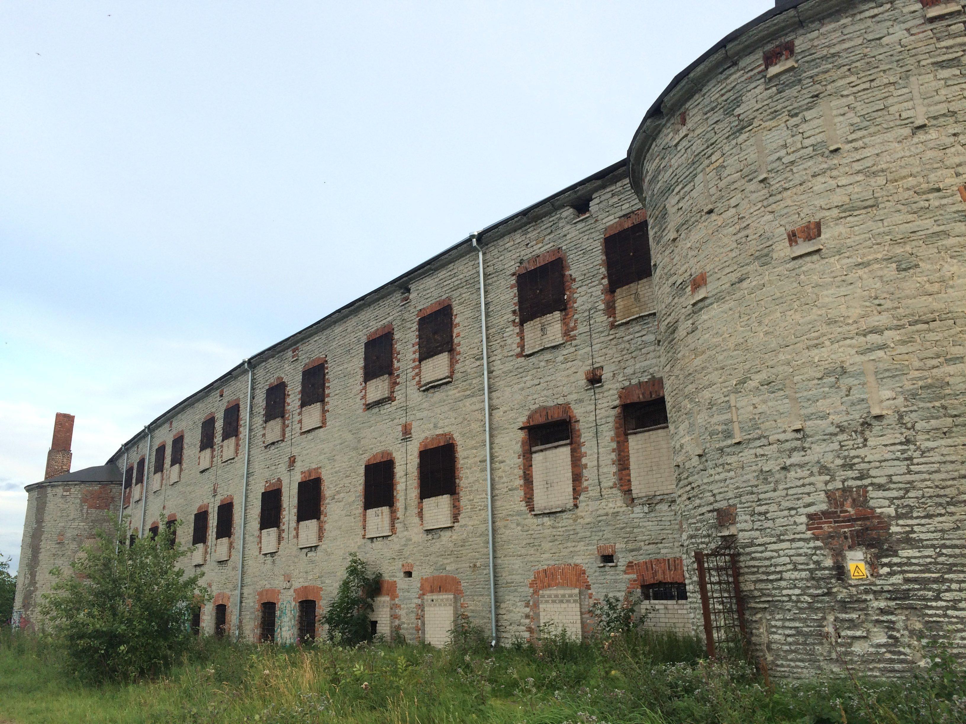 ВЭстонии реализуют  построенную поуказу Николая Iкрепость