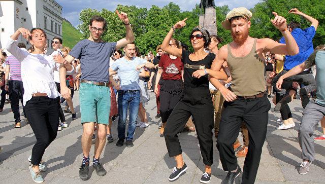 В Литве прошел День уличной музыки