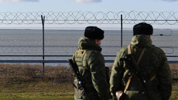 ВКрыму появилось ограждение нароссийско-украинской границе